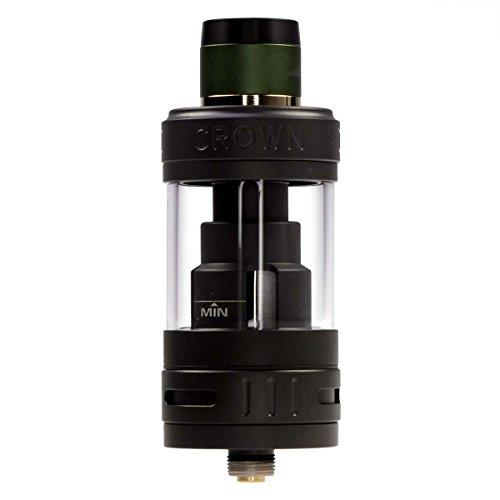 Uwell Crown 3 Clearomizer 5 ml, Durchmesser 25 mm, Riccardo Verdampfer für e-Zigarette, matt-schwarz