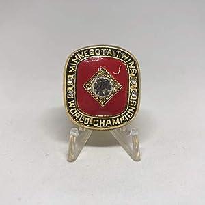 Kirby Puckett Minnesota Twins High Quality Replica 1991 World Series Ring Size 12-Gold