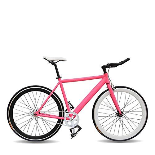 Bicicleta Bicicleta bicicletas de montaña bicicleta estática Bicicletas masculinas y femeninas Bicicleta DIY Garra manillar velocidad bicicleta de carretera bicicleta de pista-rojo_168 190cm