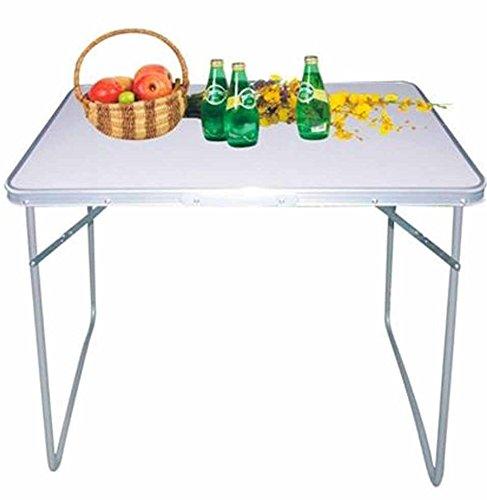 Emanhu Trading Camping-Klapptisch Camping-Tisch Gartentisch Klapptisch Möbel zusammenklabbar vers. Größen (80 x 60 x 68 cm)