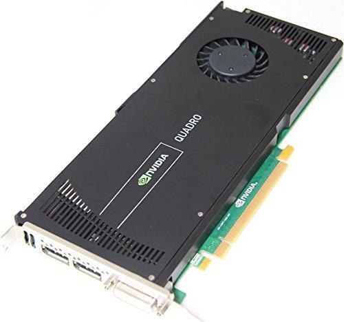 HP NVIDIA Quadro 40002GB Quadro 40002GB GDDR5–Grafikkarten (Quadro 4000, 2GB, GDDR5Speicher, 256Bit, 2560x 1600Pixel, PCI Express x16)