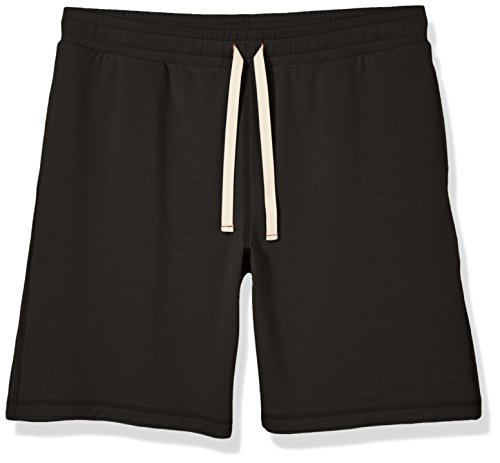 Good Brief Men's French Terry Shorts Small Black