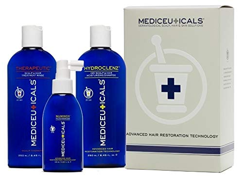 Mediceuticals Advanced Hair Restoration Kit for Dry, Thinning Hair (3 Piece...