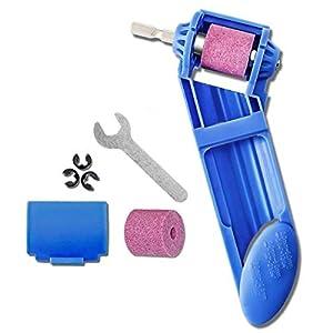 419crmuPPsL. SS300  - Afilador de brocas Techson, herramienta portátil a mano para un rango de anchuras de 2 – 12,5 mm, brocas a base de…