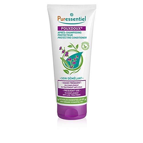 Puressentiel - Anti Poux - Après-Shampoing Protecteur Pouxdoux - Soin démêlant aux Huiles Essentielles Bio - Idéal en complément du traitement anti-poux - 200 ml