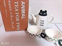 猫 ティーカップ ティーポット セット