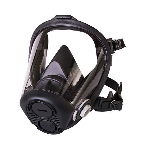 Honeywell North RU6500 Series Niosh-Approved Full Facepiece Silicone Respirator, Medium (RU65001M)