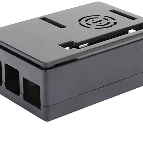 Chiwe Variedad de interfaces 4 disipador de Calor Modelo B, producción Profesional 4 Carcasa Modelo B, práctica para microcomputadora(Black Shell)
