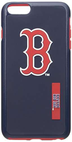MLB Boston Red Sox IPhone 6 Plus Dual Hybrid Case (2 Piece), Red