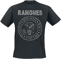 Ramones Hey Ho Let's Go - Vintage Camiseta Negro