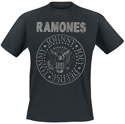Merch Traffic Limited Ramones Hey Ho Let's Go - Vintage Männer T-Shirt schwarz 3XL