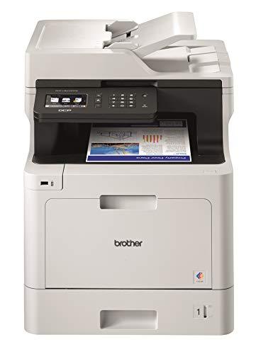 Brother DCP-L8410CDW 3-in-1 Multifunktions-Laserdrucker, professionell, sparsam, Farbe – kompakt und leistungsstark – Ausgezeichnet von Bli – A4