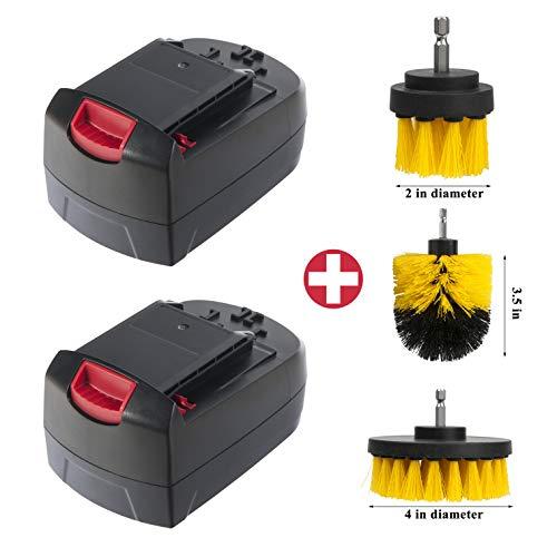 Cell9102 2Pakcs 18V 3000mAh NICD Battery SB18C SB18A for Skil SB18A Battery Pack
