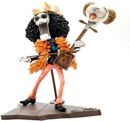Yooped Toys Action Figure One Piece Doll Brook New Year Festival New Year Collection Personaggio Animato Modello Statua Decorazione Regalo0926