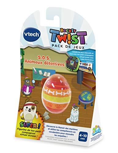 Vtech 80-495405 JEU SOS ANIMAUX DÉTECTIVES Rockit Twist Lernspiel, Mehrfarbig