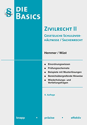 Basics Zivilrecht II - Sachenrecht/gesetzl. SV (Skripten - Zivilrecht)
