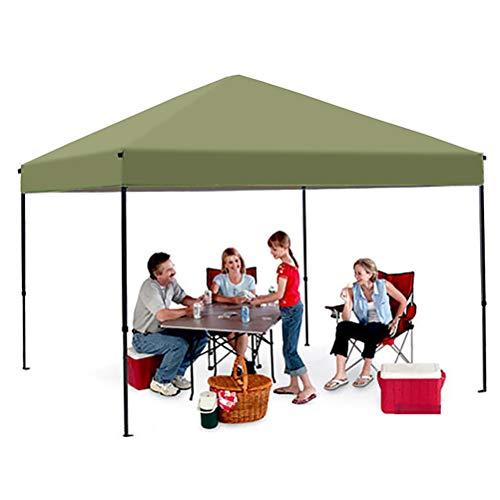 Zhyaj Pavillon Mit 3X3m Stahlrahmen - Faltbarer, Leicht Aufklappbarer Pavillon - 100% Wasserdichtes Partyzelt Mit UV-Schutz