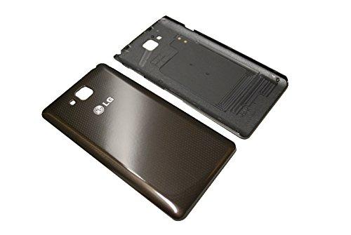 LG D605 Optimus L9 II Akku Battery Cover Deckel Schale Akkudeckel NFC Original Neu black/schwarz