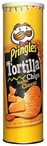 6x Pringles - Tortilla Chips Nacho Cheese - 180g