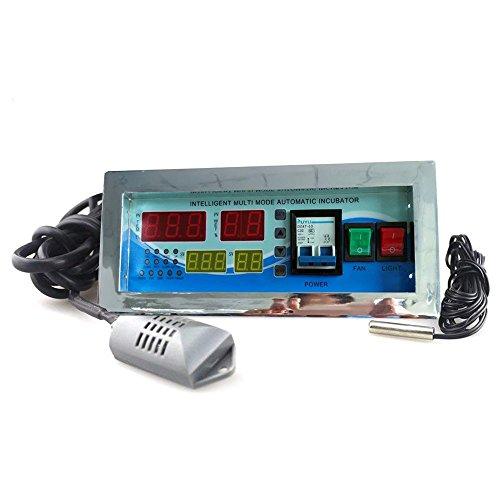 huatuo termostato Digital controlador multifunción/Incubadora Automática de Huevos de Aves Gallinas Patos, Sensor de Temperatura para incubateur de pequeña talla (XM-18E)