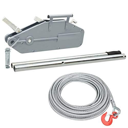 pedkit Cabrestante Elevador de Cable Cabestrante de Tracción de Cable 1600 kg