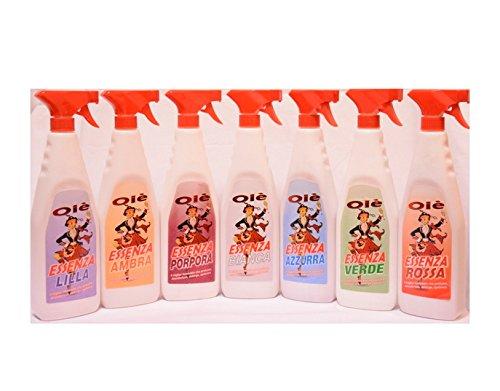 Deodorante ambiente essenza profumo Olè fragranza Verde 750ml x 12pz
