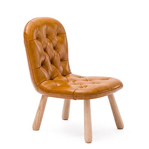 Chaise bébé, tabouret bas, chaise d'école maternelle, chaise d'apprentissage, chaise de sofa de retour à la maison, chaise en bois massif pour enfants (Couleur : Kaki)