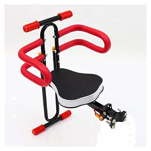 Bicicleta para niños Asientos seguros delanteros para bebés Asiento de desmontaje rápido Portátil Deporte al aire libre Montar a caballo Niños Proteger Asiento Bicicletas de montaña Silla de m