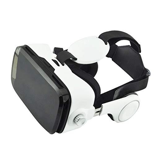 JYMYGS VR Brille, HD 3D Virtual Reality Brille, für 3D Film und Spiele, Geeignet 4,0-6,0 Zoll Smartphone Handy für iPhone SE 6/6s/7/8/X/XS, Samsung Galaxy S6/S7/S8/S9, Huawei p10/p20. N043JL