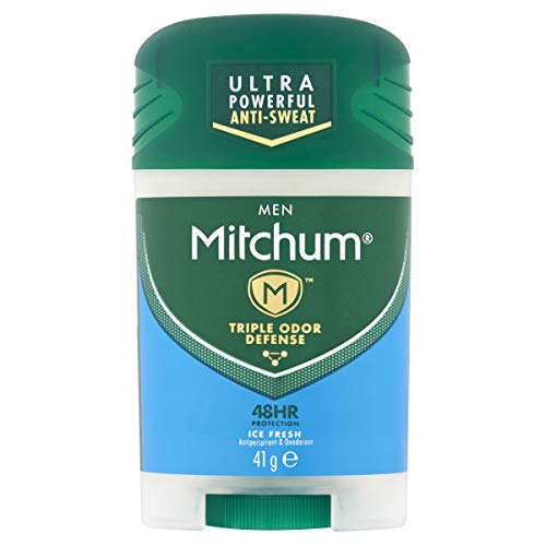 Mitchum Men Triple Odor Defense 48HR Protection Ice Fresh Anti-transpirant et déodorant 41 g