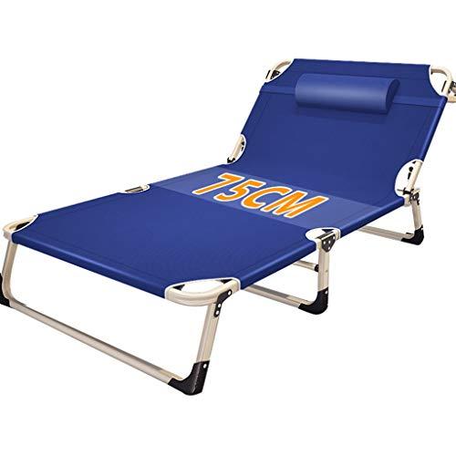 Bain de soleil Lit de repos inclinable Chaise de relaxation Piscine Zero Gravity Chaise longue pliante Lit bébé réglable Camping Plage de bronzage (Couleur : Chair)