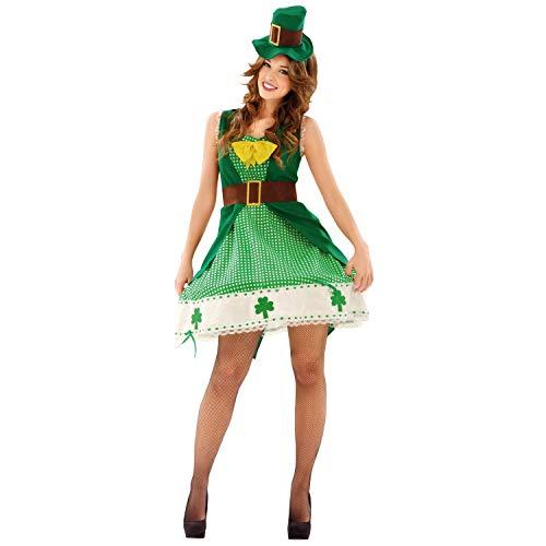 My Other Me Me-201099 Irlanda Disfraz de irlandesa para mujer, M-L (Viving Costumes 201099)