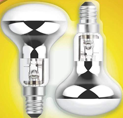 Halogen-Reflektorlampe, energiesparend, R50, 28 W, SES E14, 4 Stück, Pack of 8