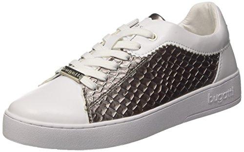 bugatti Damen 422291025059 Sneaker, Weiß (White/Grey 2015), 40 EU