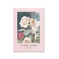 Flower Fairies フラワーフェアリーズ レター (レターパッド, ローズ)