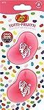 Jelly Belly® - Ambientador de coche doble para los conductos de ventilación con fragancia de Tutti-Fruitti todos los aromas en uno - 30 días de duración