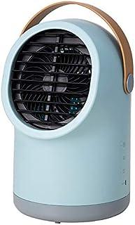 Three-up スリーアップ 充電式 ポータブル冷風扇 ブルーグレー