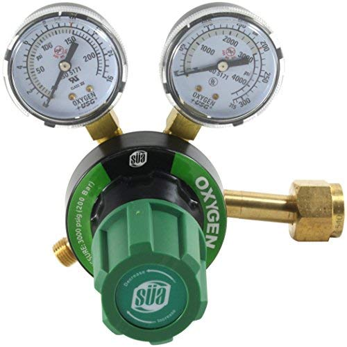 SÜA Oxygen Regulator Welding Gas Gauges