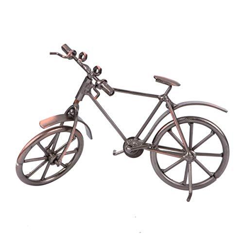 ADSE Vintage Metall Fahrrad Modell Fahrrad Ornamente Desktop Crafts Ironwork Fahrrad Figuren Fahrrad Miniatur Home Decoration