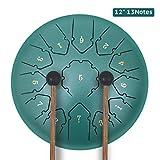 KUDOUT Tongue Drum-13 tons 12 Pouces-handpan instrument -Instrument de...