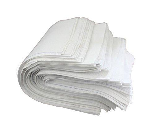 2KG Putzlappen Reinungstücher Putztücher 100% reine Baumwolle Zuschnitt Weiss Umweltfreundlich DIN 61650