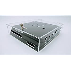 New PlayStation 4 Pro Acrylic Video Game Console Security Case