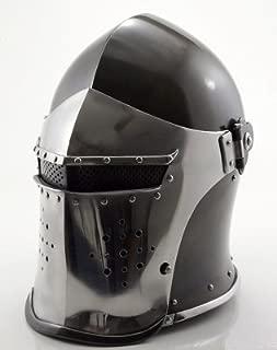 THORINSTRUMENTS (with device) Thor Visored Barbuta Helmet Armour