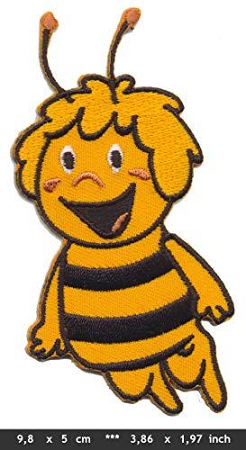 Toons Biene Maja Patches Aufnäher Aufbügler Kinder TV Zeichentrickfilm 70er Cartoon