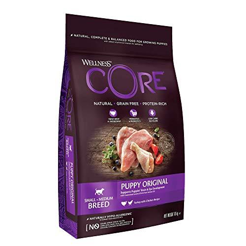 Wellness CORE Puppy Food Dry, Grain Free - Turkey & Chicken, 10 kg