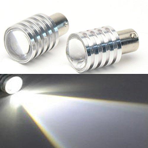 Lot de 2 ampoules LED CREE 1156/BA15s 7 W Blanc 1680/3496/5007 LED Feu arrière de recul