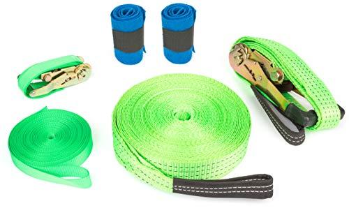 Small Foot 10476 Slackline Set de Construction avec Protection pour...