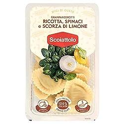Lo Scoiattolo- Granpanzerotti Ricotta, Spinaci e Scorza Di Limone, 200g