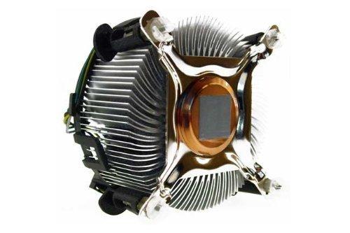 Intel–Ventilador para CPU (Intel Socket 775, núcleo de Cobre)