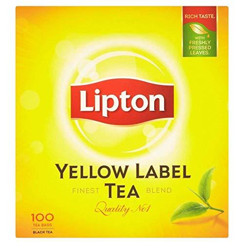 4 x 100 Teebeutel Lipton Yellow Label Tee - Schwarztee (600g)